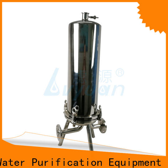 Lvyuan efficient stainless water filter housing with core for sea water desalination