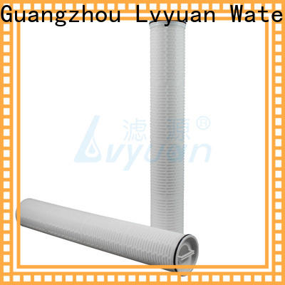 Lvyuan pall high flow water filter replacement cartridge supplier for sea water desalination