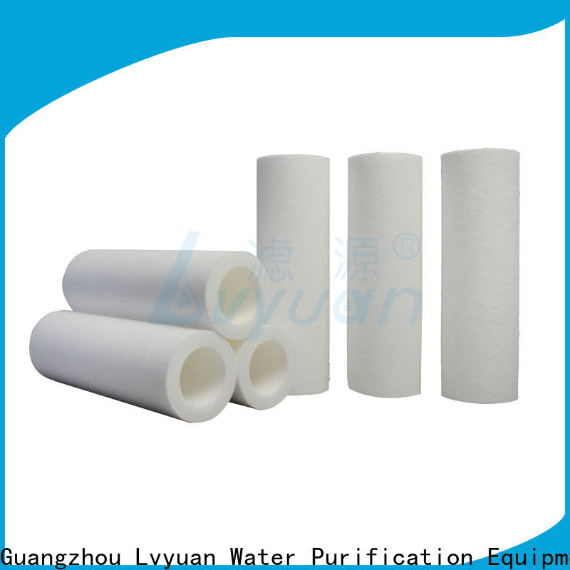 Lvyuan melt blown filter cartridge replacement for food and beverage