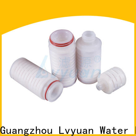 ptfe pleated water filters manufacturer for industry