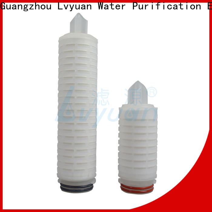 Lvyuan membrane pleated filter manufacturers replacement for sea water desalination