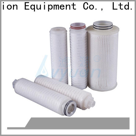 pvdf pleated filter element manufacturer for organic solvents