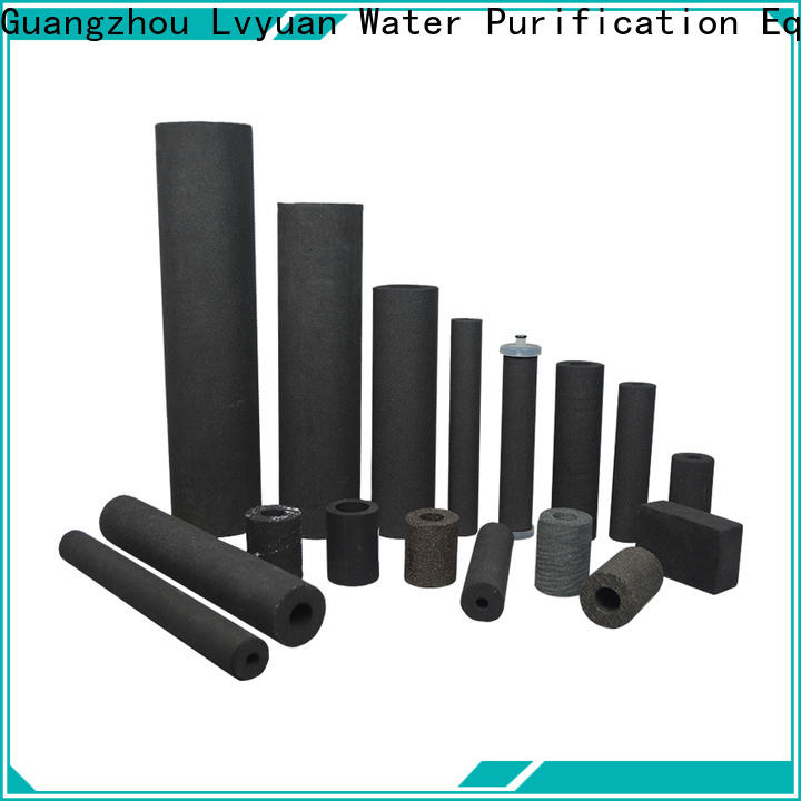 Lvyuan sintered filter suppliers supplier for sea water desalination