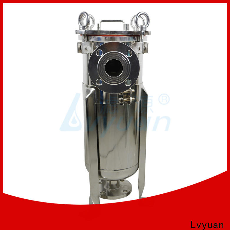 Lvyuan ss filter housing with core for food and beverage
