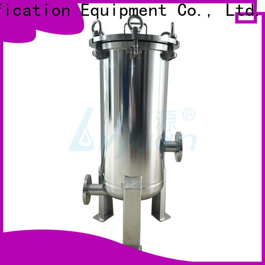 Lvyuan porous ss filter housing manufacturers with fin end cap for sea water desalination