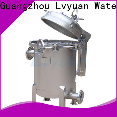 professional ss bag filter housing manufacturer for sea water treatment