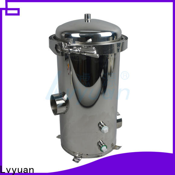 Lvyuan stainless steel filter housing manufacturers rod for oil fuel