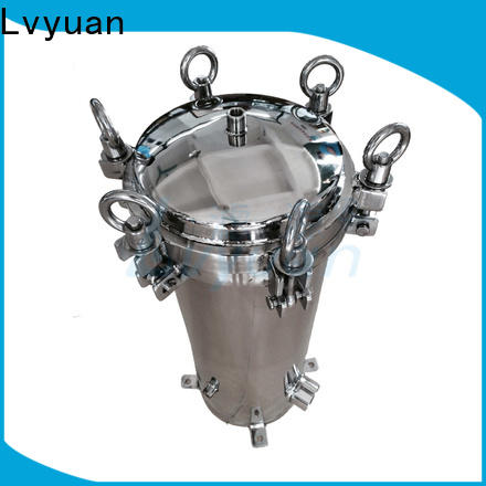 titanium stainless steel water filter housing rod for food and beverage