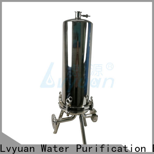 Lvyuan stainless water filter housing manufacturer for industry