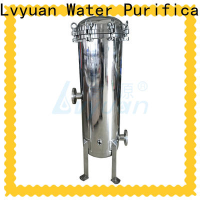 Lvyuan stainless water filter housing manufacturer for sea water treatment