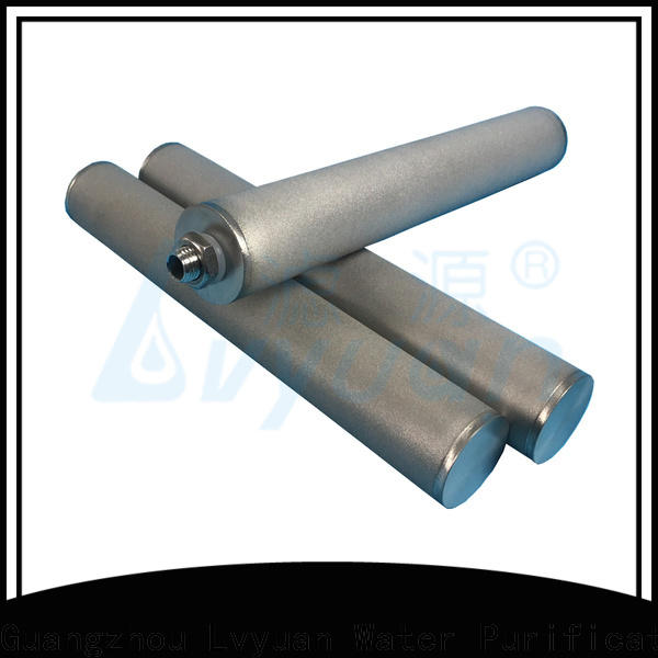 porous sintered ss filter rod for industry