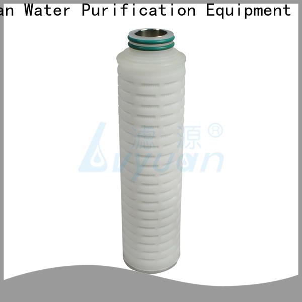 Lvyuan pleated filter cartridge suppliers manufacturer for industry