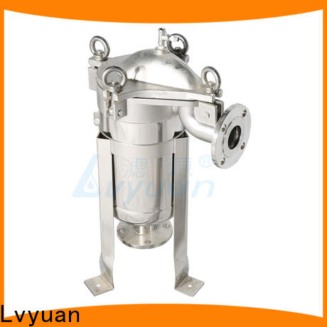 Lvyuan ss filter housing with fin end cap for sea water treatment