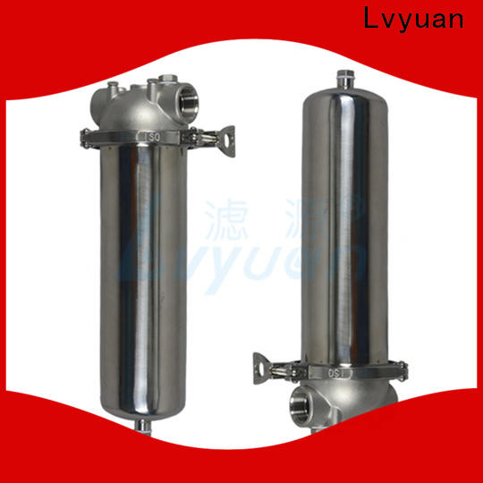 high end ss cartridge filter housing with core for sea water desalination