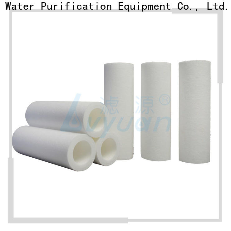 Lvyuan pp melt blown filter cartridge replacement for sea water desalination