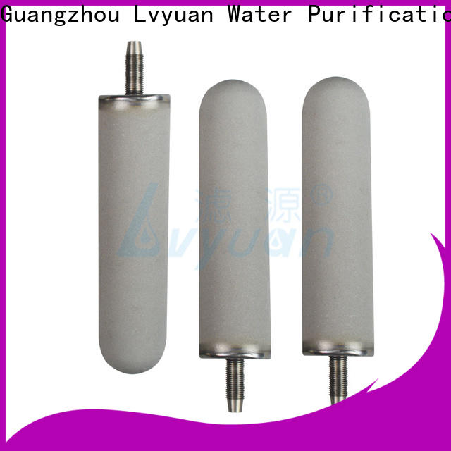 Lvyuan sintered filter cartridge manufacturer for food and beverage