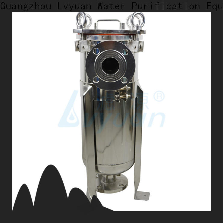 efficient stainless steel bag filter housing manufacturer for food and beverage