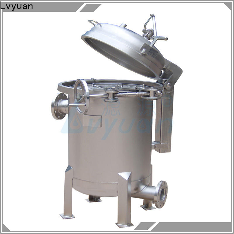 Lvyuan efficient stainless filter housing rod for sea water desalination
