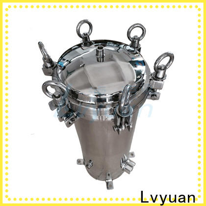 Lvyuan professional stainless steel filter housing rod for sea water treatment
