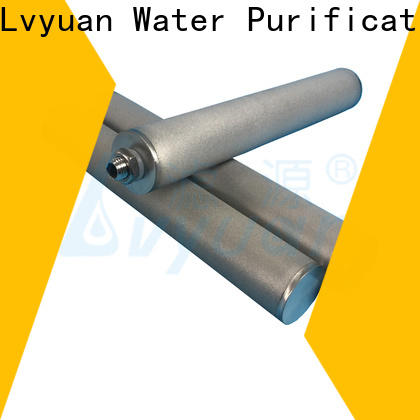 porous sintered carbon water filter rod for industry