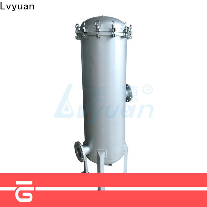 Lvyuan professional stainless steel bag filter housing manufacturer for food and beverage