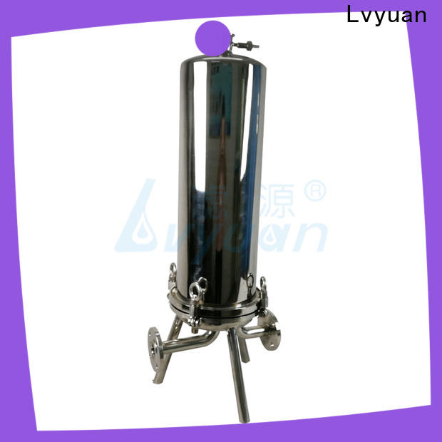 Lvyuan porous ss bag filter housing rod for food and beverage