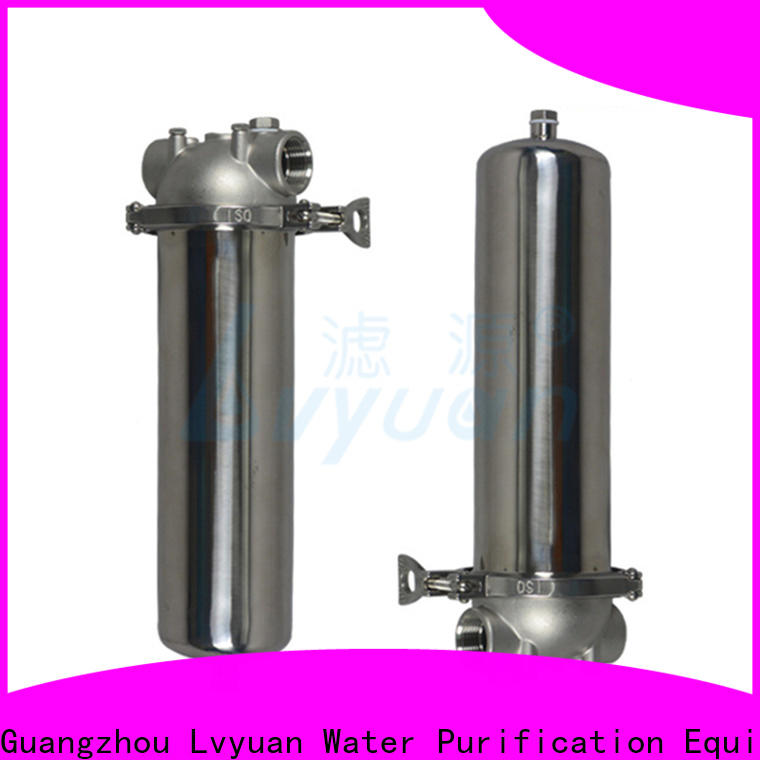 Lvyuan professional stainless steel bag filter housing rod for food and beverage