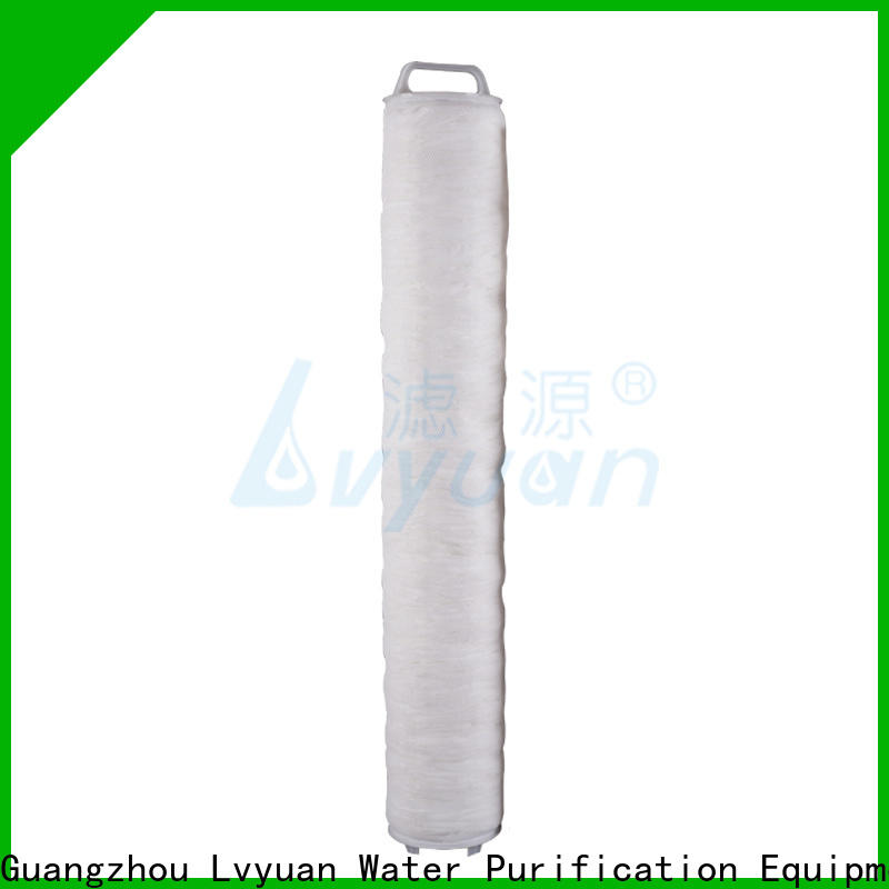 Lvyuan water high flow water filter cartridge manufacturer for sale