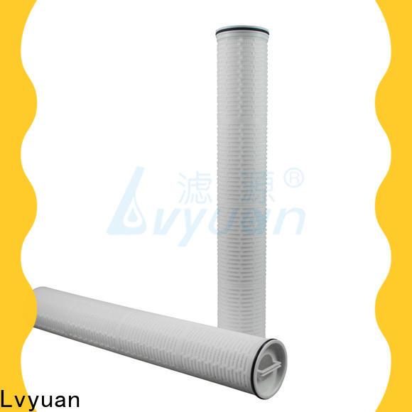 high end high flow water filter cartridge replacement for industry