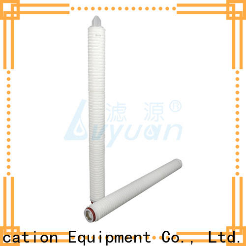 Lvyuan membrane pleated water filter cartridge supplier for sea water desalination
