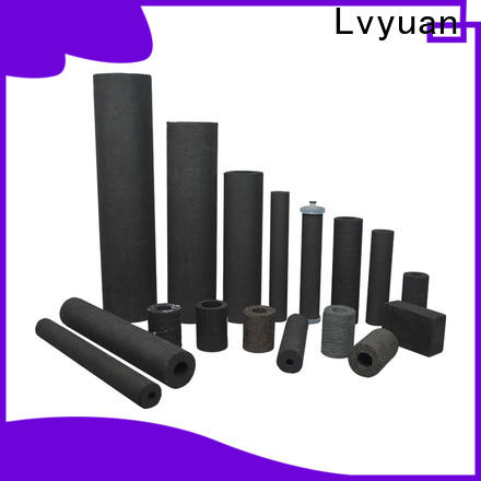 Lvyuan activated carbon sintered metal filter rod for sea water desalination