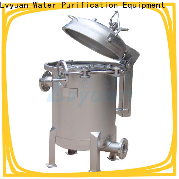best ss filter housing manufacturers with fin end cap for oil fuel