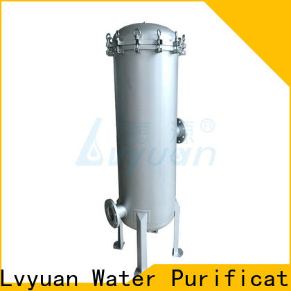 Lvyuan stainless steel filter housing housing for sea water treatment
