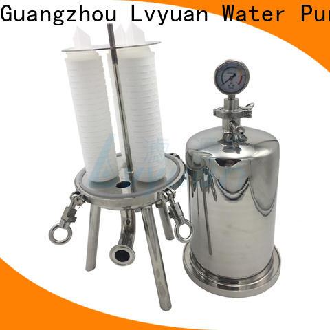 Lvyuan porous stainless steel cartridge filter housing rod for sea water desalination