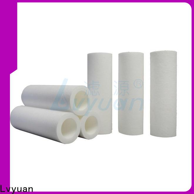 Lvyuan efficient melt blown filter cartridge supplier for sea water desalination