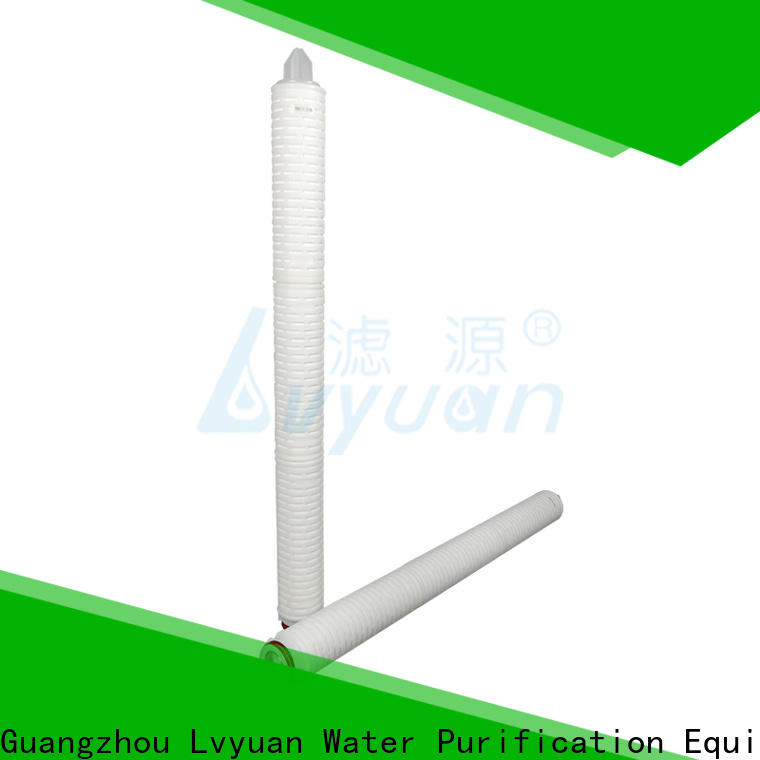 water pleated water filters manufacturer for food and beverage