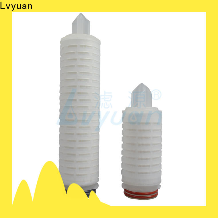 Lvyuan pleated filter cartridge replacement for sea water desalination