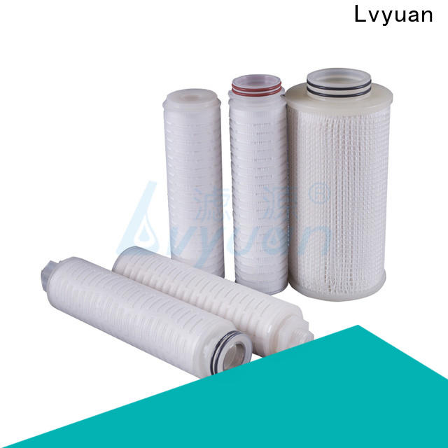 Lvyuan pleated filter element manufacturer for liquids sterile filtration