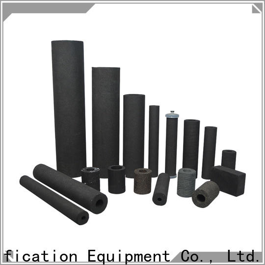 activated carbon sintered powder metal filter supplier for food and beverage