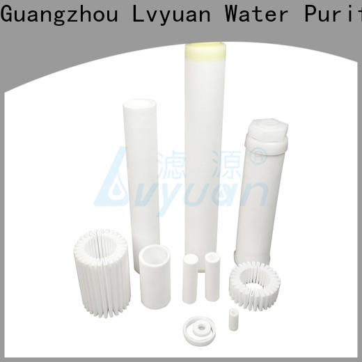 Lvyuan sintered carbon water filter rod for sea water desalination