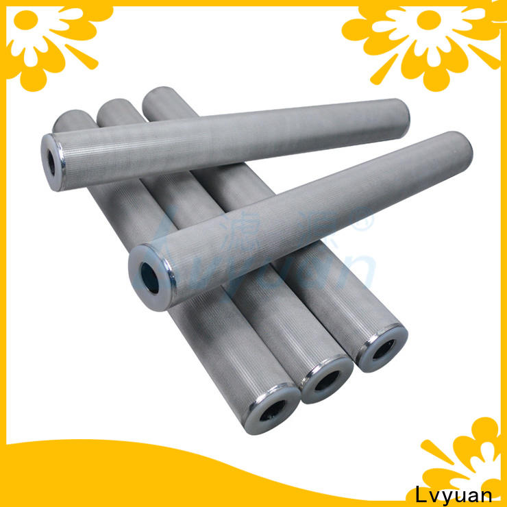 block sintered plastic filter supplier for sea water desalination