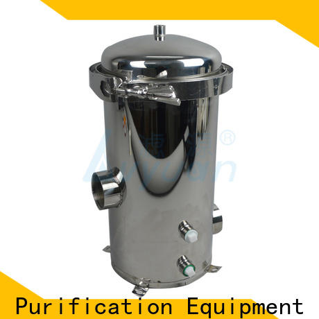Lvyuan titanium stainless steel water filter housing manufacturer for food and beverage