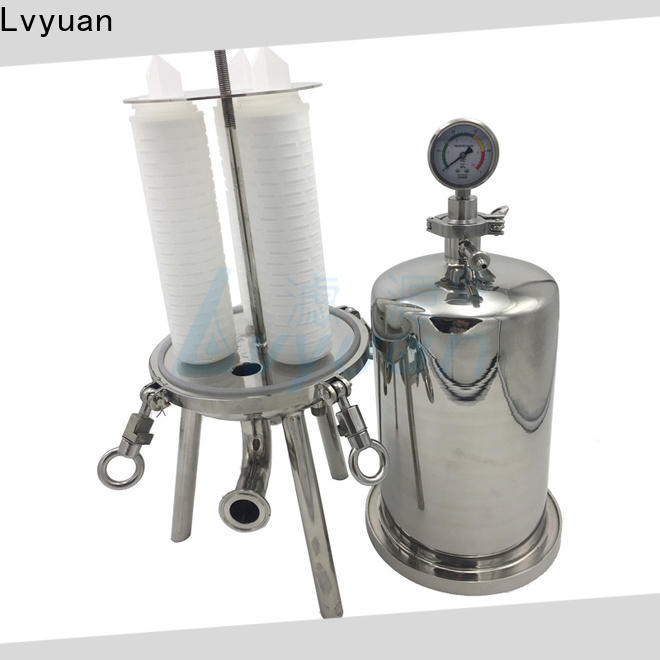 Lvyuan professional stainless filter housing housing for industry