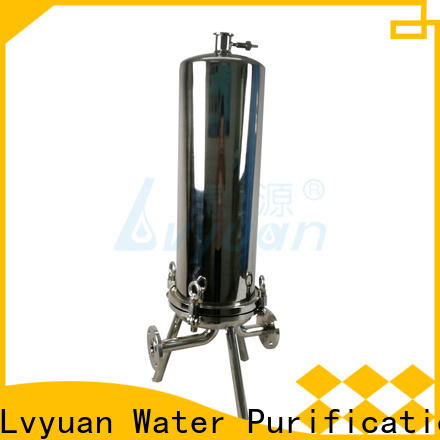 Lvyuan ss cartridge filter housing housing for sea water treatment