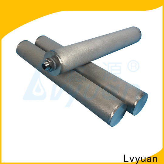 Lvyuan sintered carbon water filter rod for food and beverage
