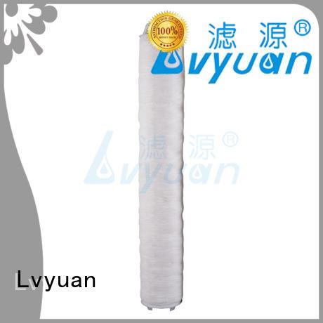 Lvyuan efficient hi flow water filter cartridge manufacturer for sale