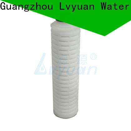 Lvyuan pleated water filters replacement for sea water desalination