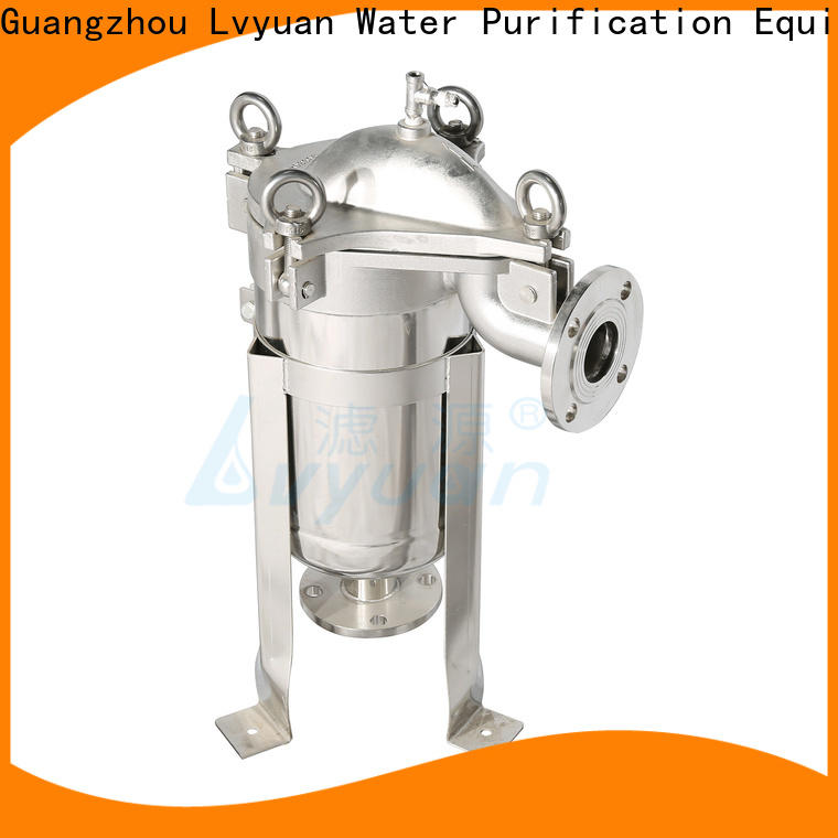 Lvyuan ss cartridge filter housing with core for sea water desalination