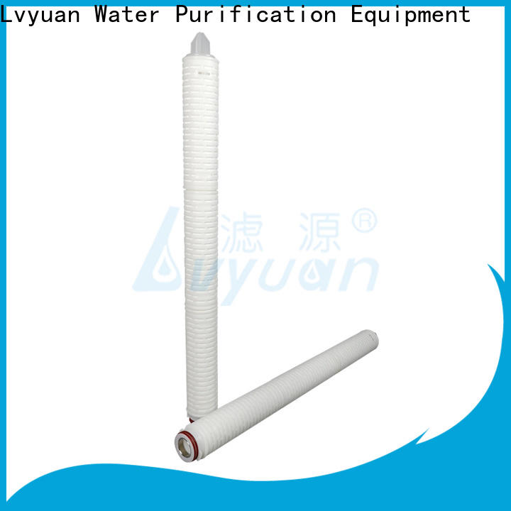 Lvyuan nylon pleated filter element supplier for organic solvents
