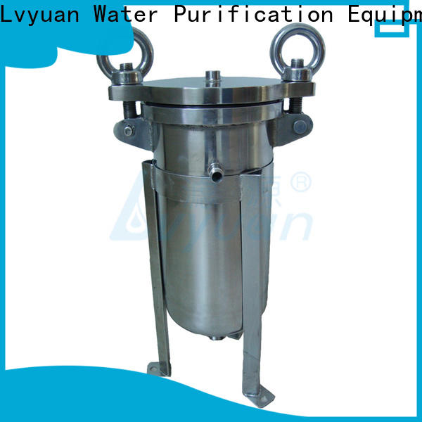 Lvyuan stainless steel bag filter housing rod for food and beverage